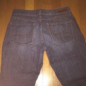 Levi straight leg jeans